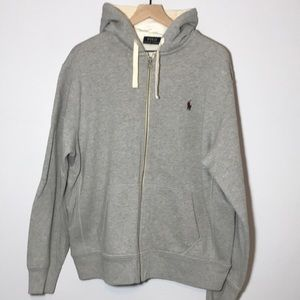 Like New Polo Zip Hoodie